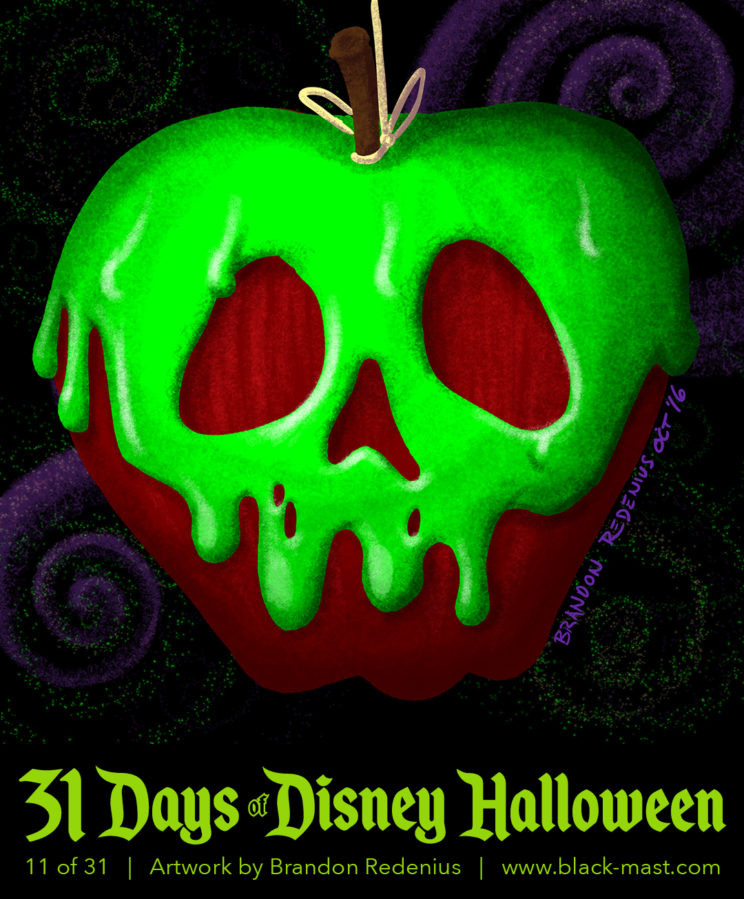 Day 11: Poison Apple from Disney's Snow White