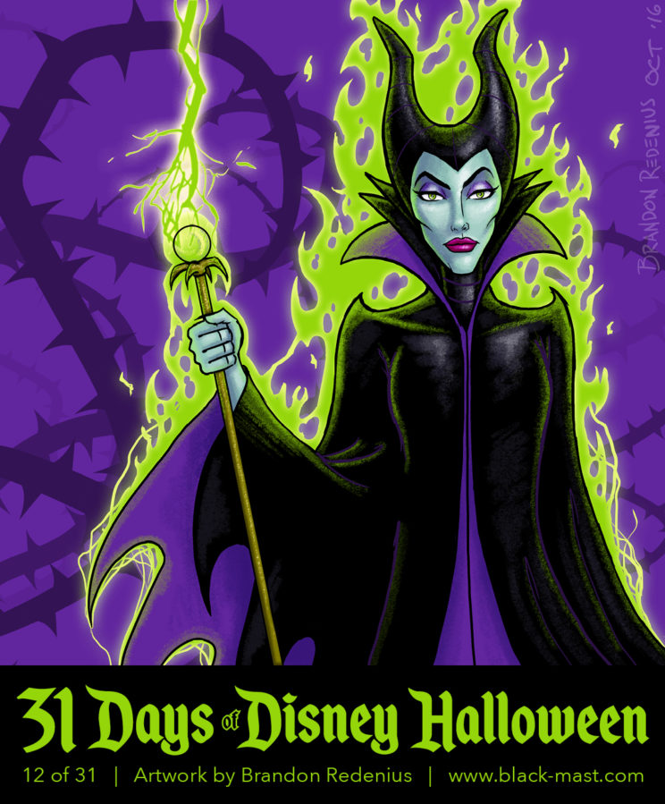 Day 12: Maleficent from Disney's Sleeping Beauty