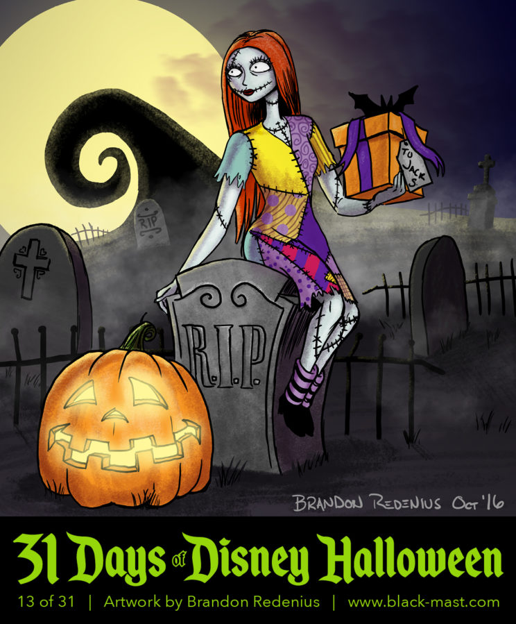 Day 13: Sally from The Nightmare Before Christmas