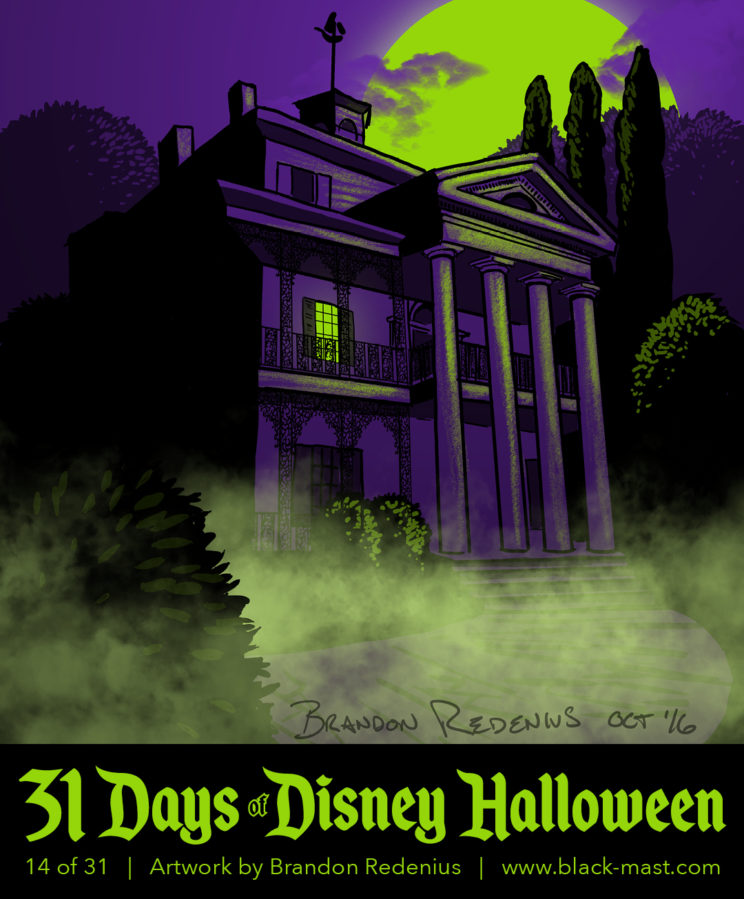 Day 14: Disneyland's Haunted Mansion