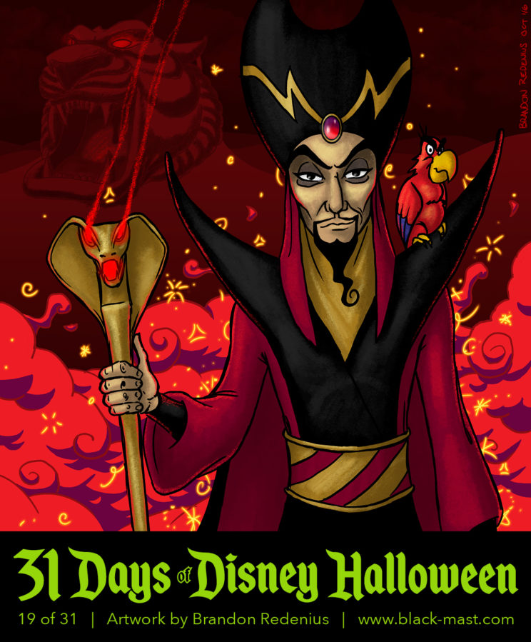 Day 19: Jafar from Disney's Aladdin
