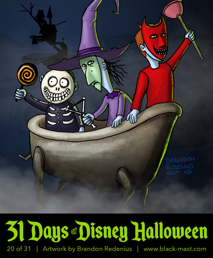 Day 20: Lock, Shock, and Barrel from The Nightmare Before Christmas