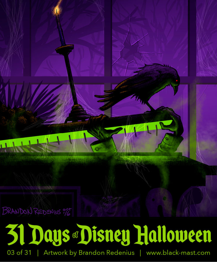 Day 3: The Conservatory Coffin from the Haunted Mansion