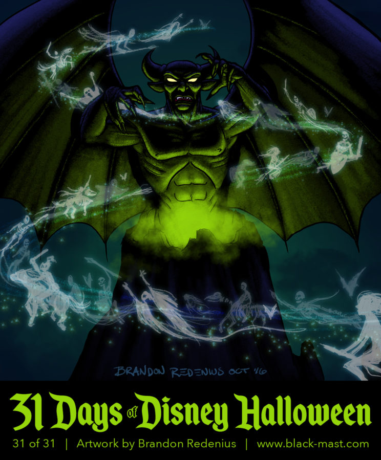 """Day 31: Chernabog from Fantasia's """"A Night on Bald Mountain"""""""