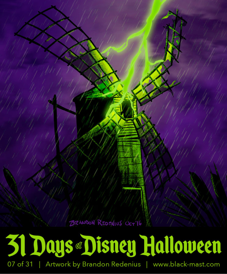 Day 7: The Old Mill from Disney's Silly Symphonies
