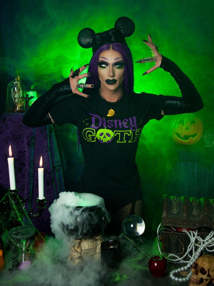 Disney Goth Tee (Model: Amanda Bang)