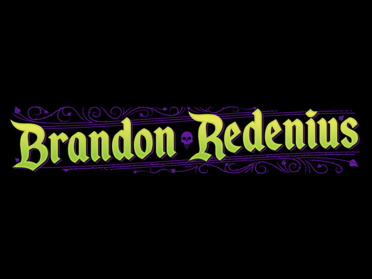 Brandon Redenius: Personal branding for website and portfolio.