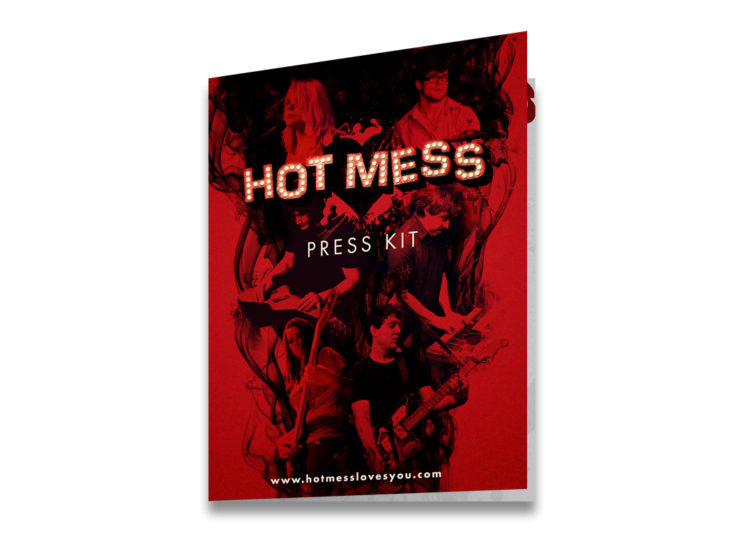 Hot Mess Press Kit Cover
