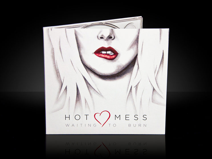 "Hot Mess ""Waiting to Burn"" Album Packaging"