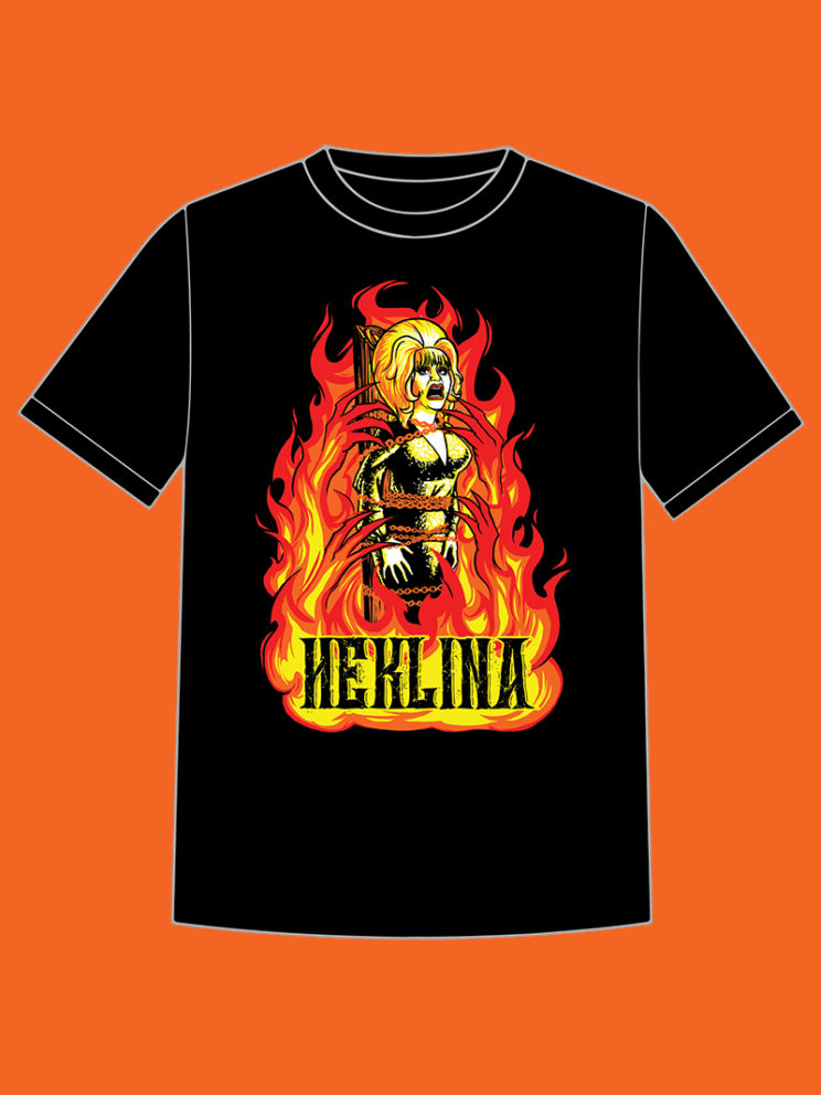 Roast of Heklina Tee Mockup