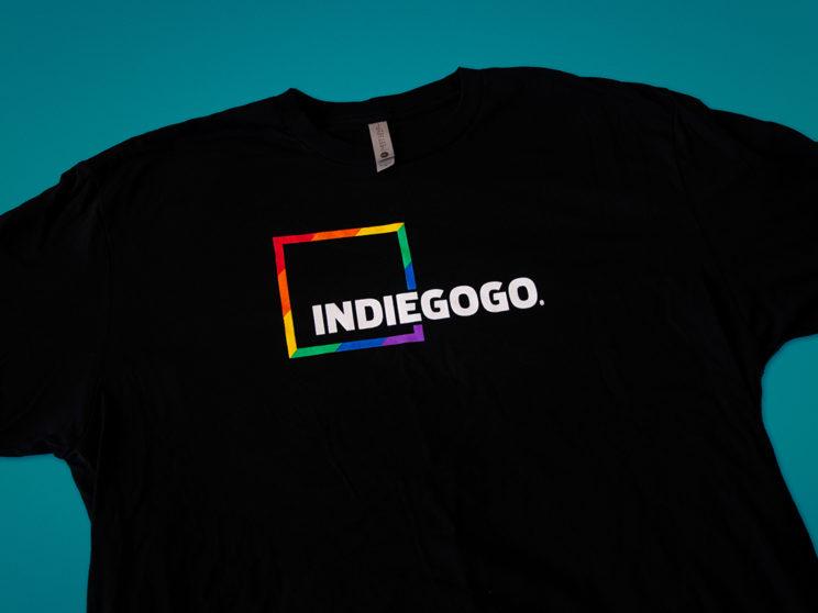 Indiegogo 2017 Pride Celebration T-Shirt