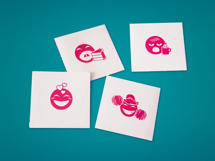 Indiegogo Internal Emoji Stickers