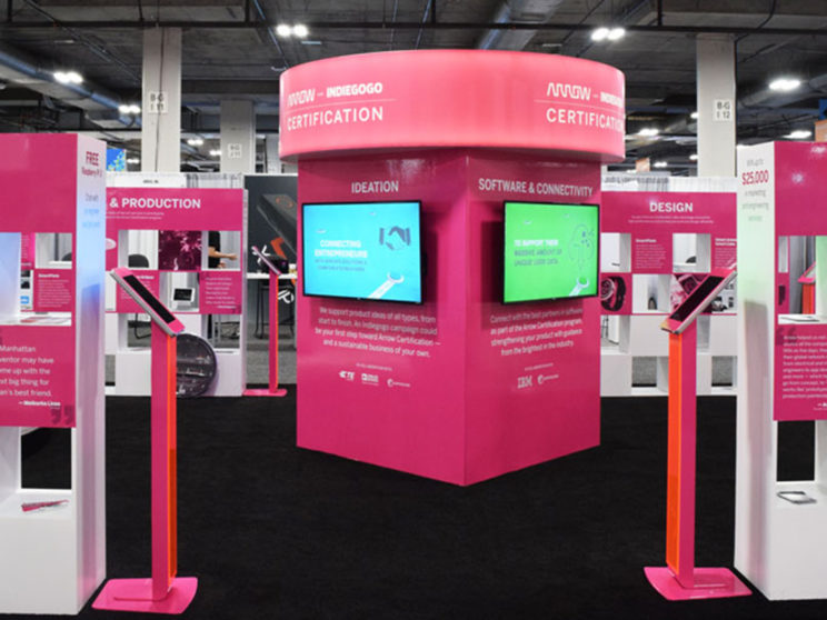 CES 2017 Arrow Section of Indiegogo Zone