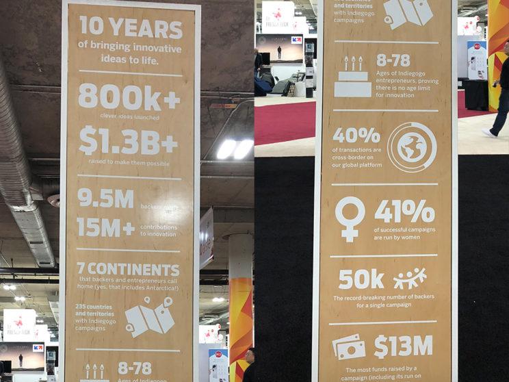 10 Year Anniversary Infographic Endcap