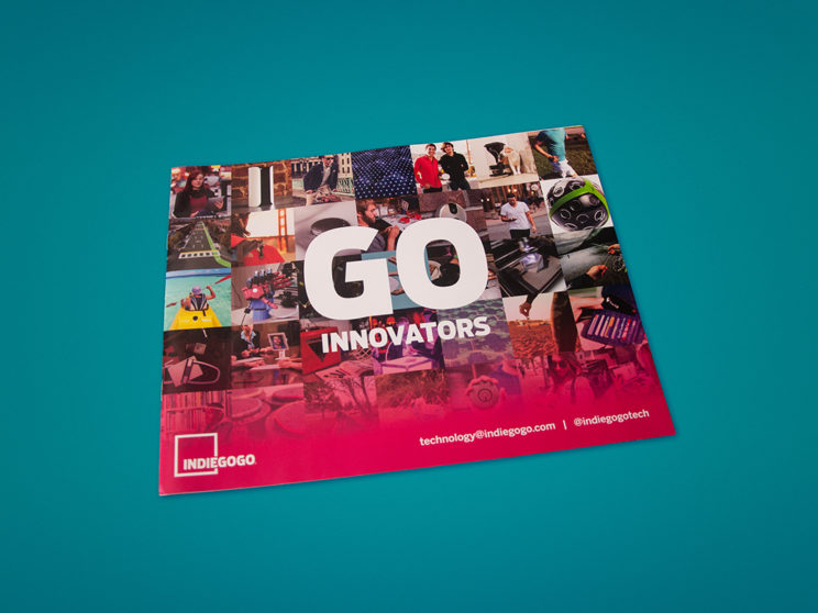 Indiegogo Sales Enablement Booklet Front Cover