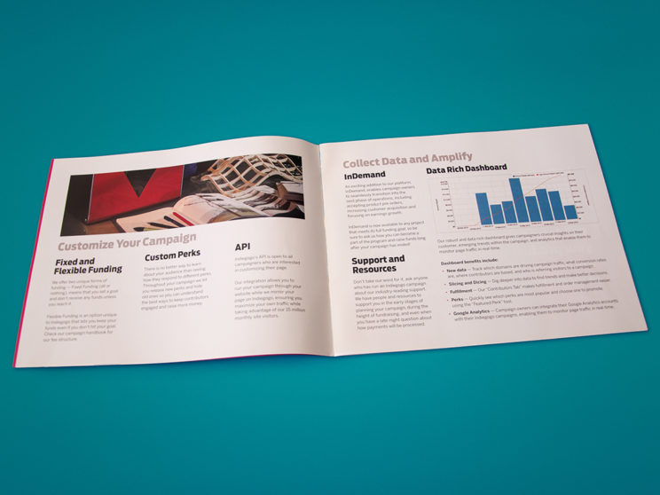 Indiegogo Sales Enablement Booklet Interior