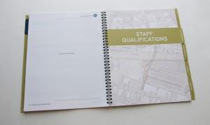 Staff Qualifications Tab