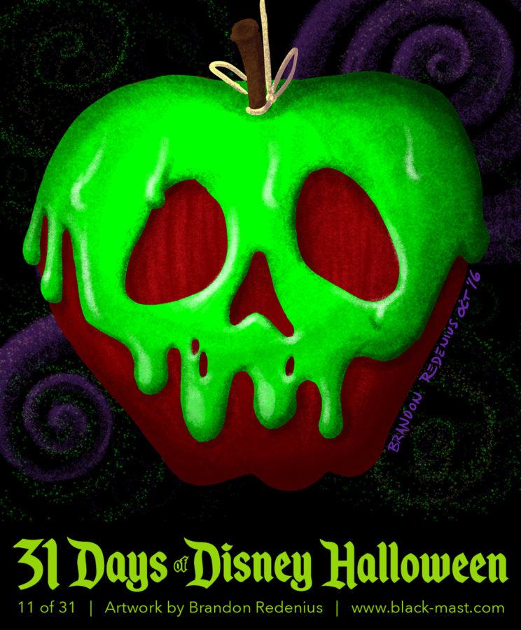 Day 11: Poison Apple from Disney's Snow White