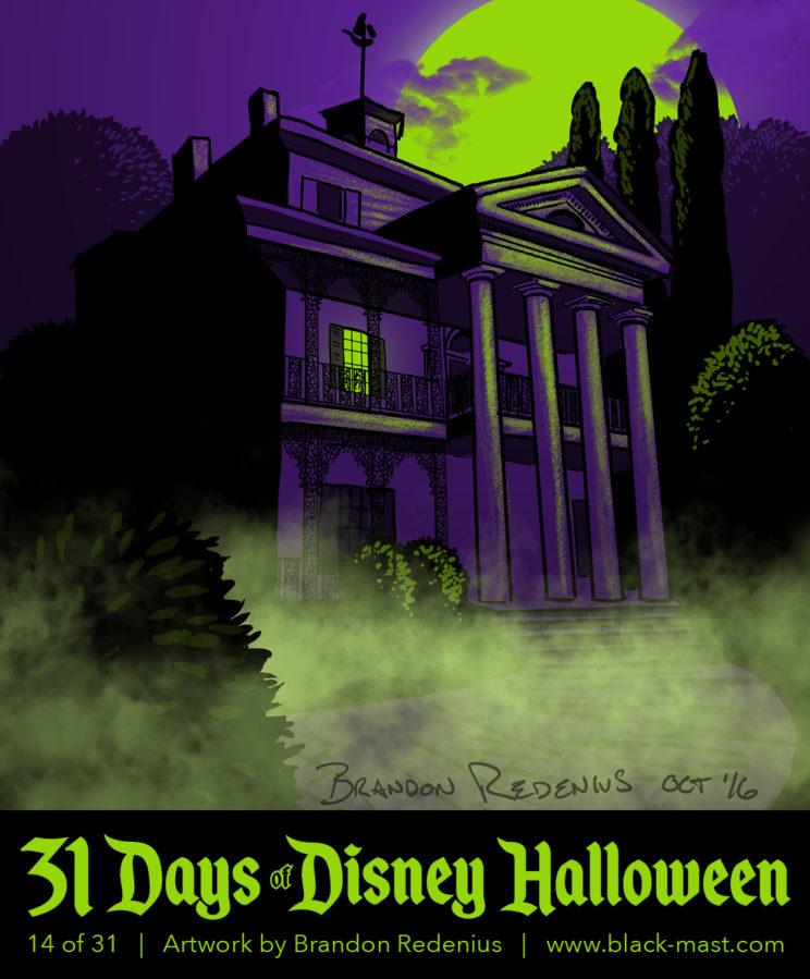 Day 14: Disneyland's Haunted Mansion