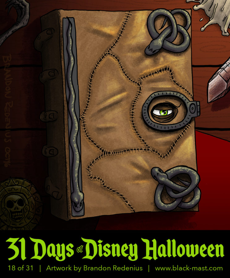 Day 18: Spell Book from Hocus Pocus
