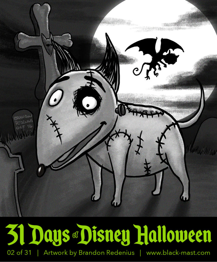 Day 2: Sparky from Disney's Frankenweenie