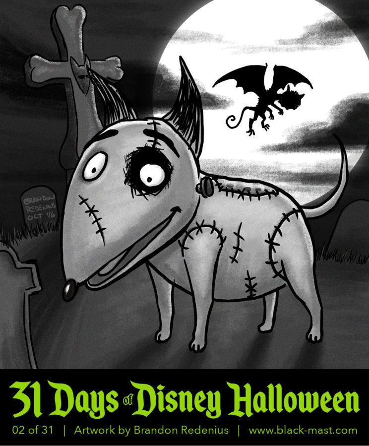 Day 2: Sparky from Disney's Frankenweenie