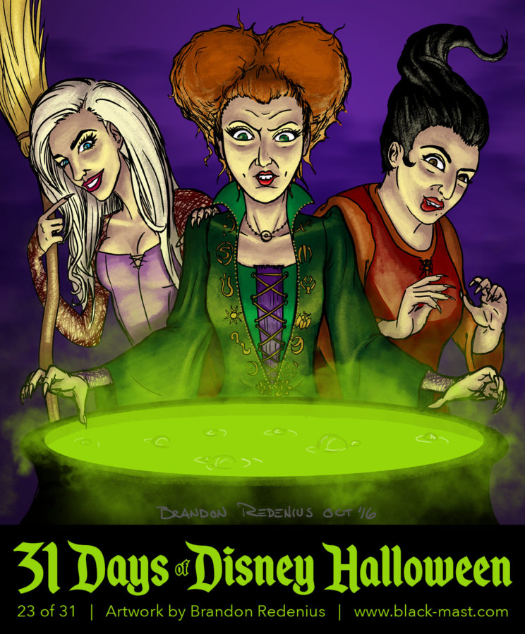 Day 23: The Sanderson Sisters from Hocus Pocus