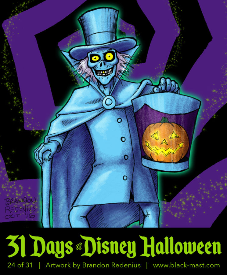 Day 24: The Hatbox Ghost from the Haunted Mansion