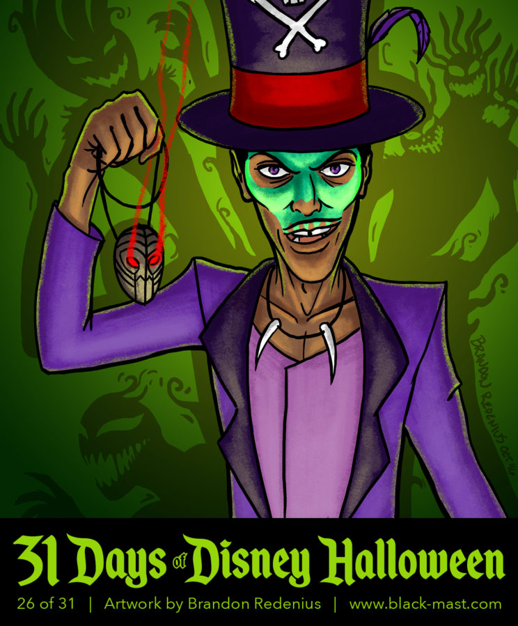 "Day 26: Dr. Facilier from ""Princess and the Frog"""