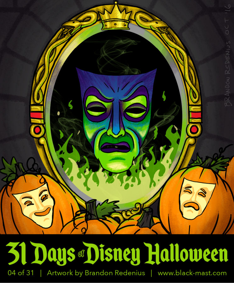 Day 4: The Magic Mirror from Disney's Snow White
