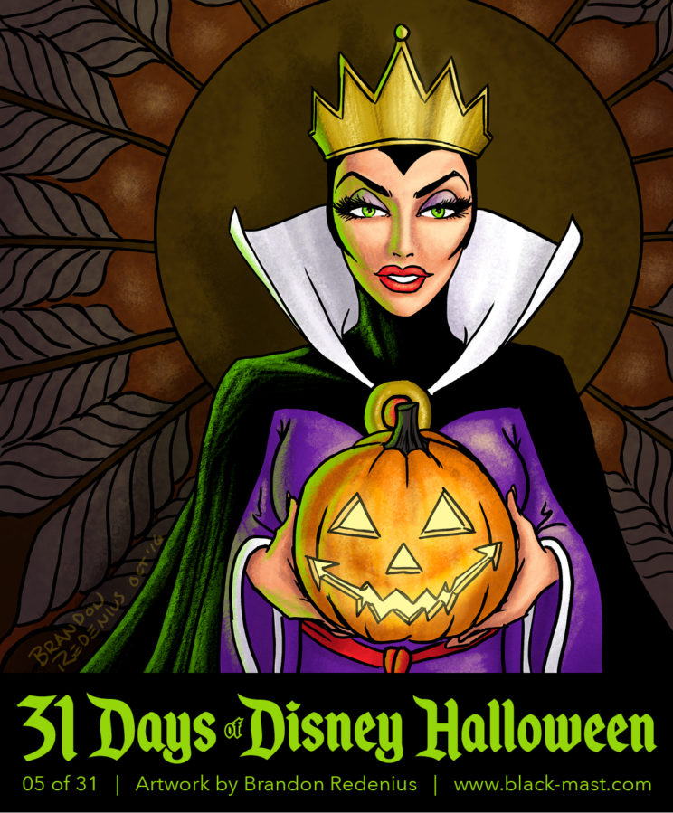 Day 5: The Evil Queen from Disney's Snow White