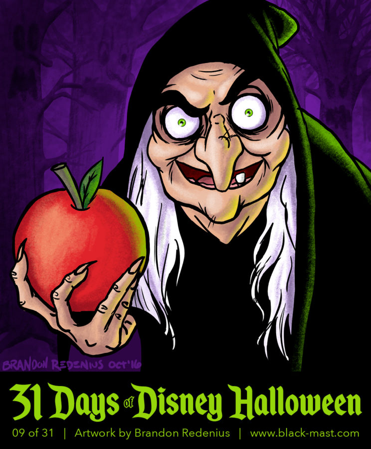 Day 9: The Old Hag from Disney's Snow White