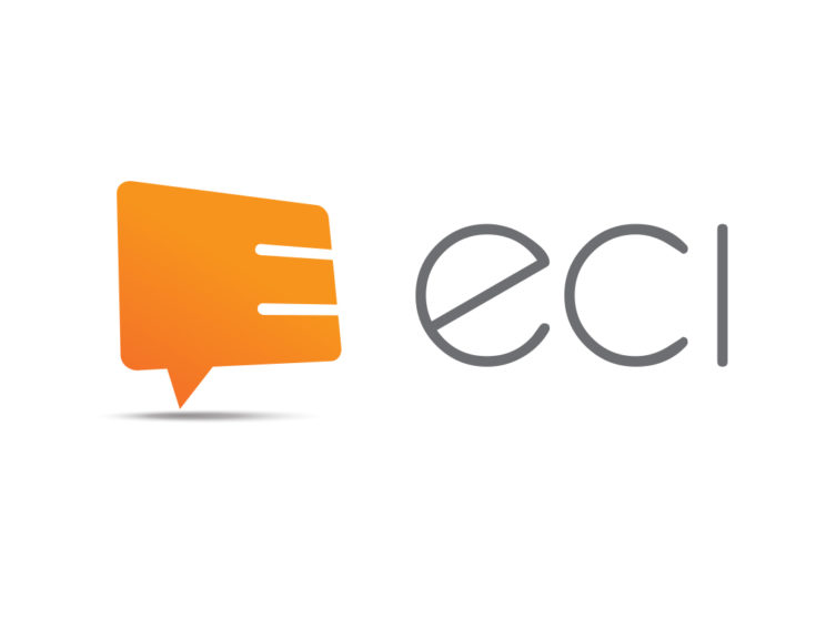 ECI: Rebranded logo for marketing agency.