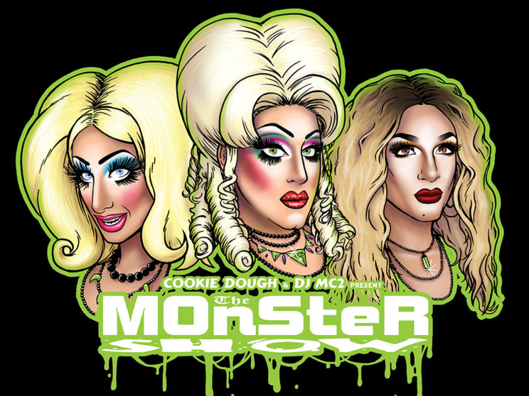 Monster Show Hosts Promo Art