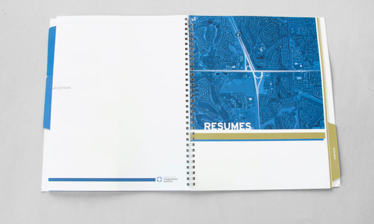 HNTB Graphic Design and Editorial Design - Resumes Tab