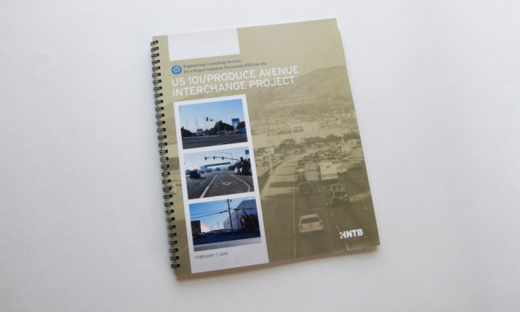 HNTB Graphic Design and Editorial Design - Front Cover