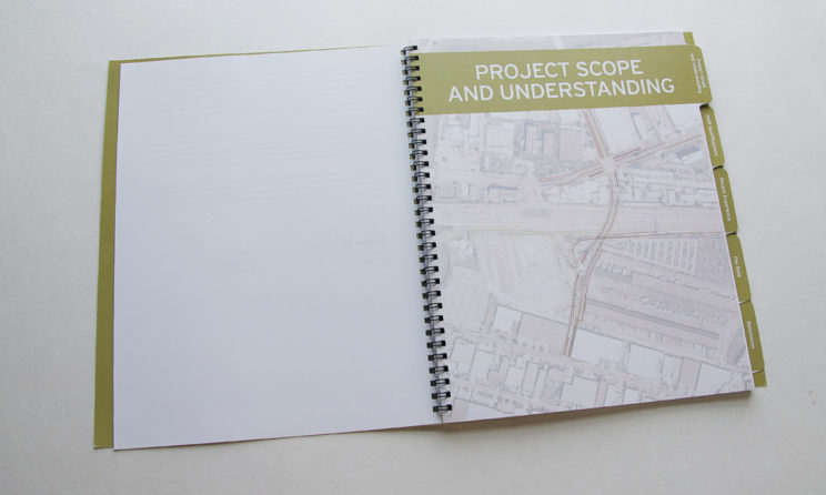 HNTB Graphic Design and Editorial Design - Project Scope