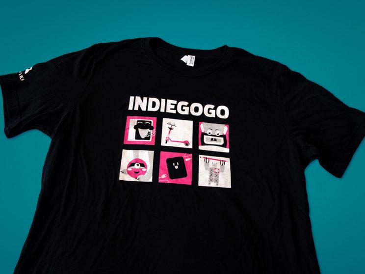 CES 2017 Indiegogo T-Shirt
