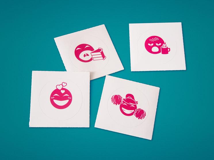 Indiegogo Internal Emoji Stickers