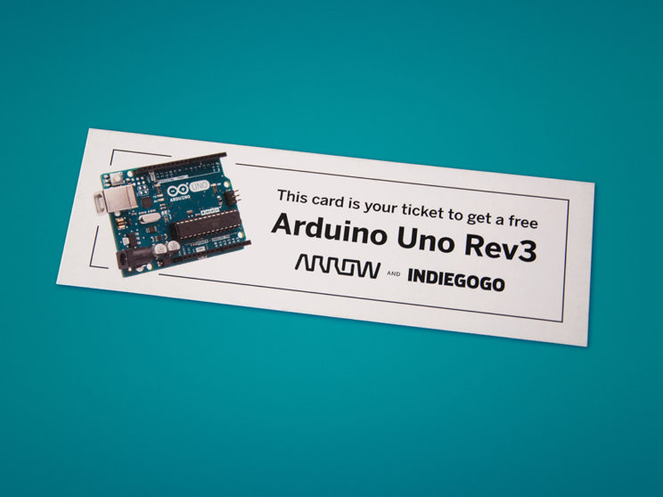 Arduino Giveaway Tickets for Arrow at CES 2018