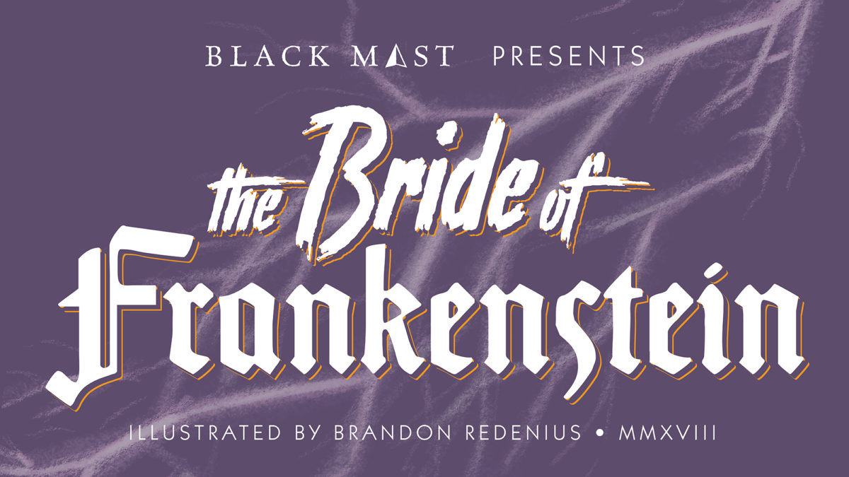 The Bride of Frankenstein Title Card