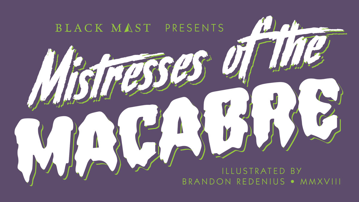Mitresses of the Macabre Title Card