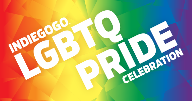 Indiegogo 2016 Pride Celebration Branding