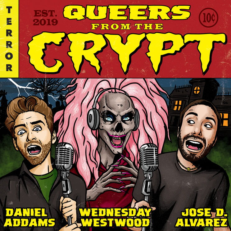Queers from the Crypt Podcast Promo Artwork