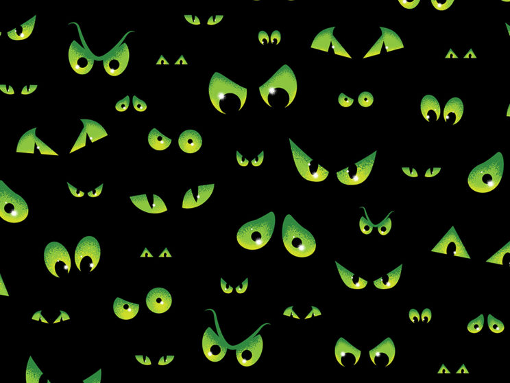 Spooky Eyes Pattern
