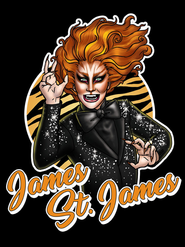 James St. James Transformations T-shirt