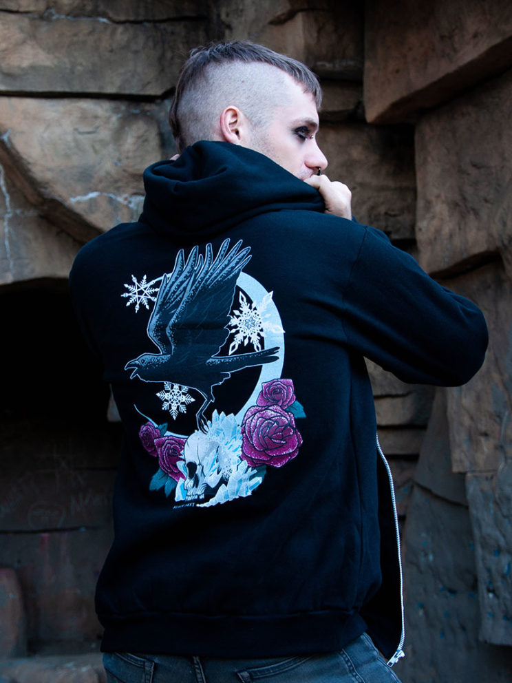 Snowgoth Graphic Hoodie