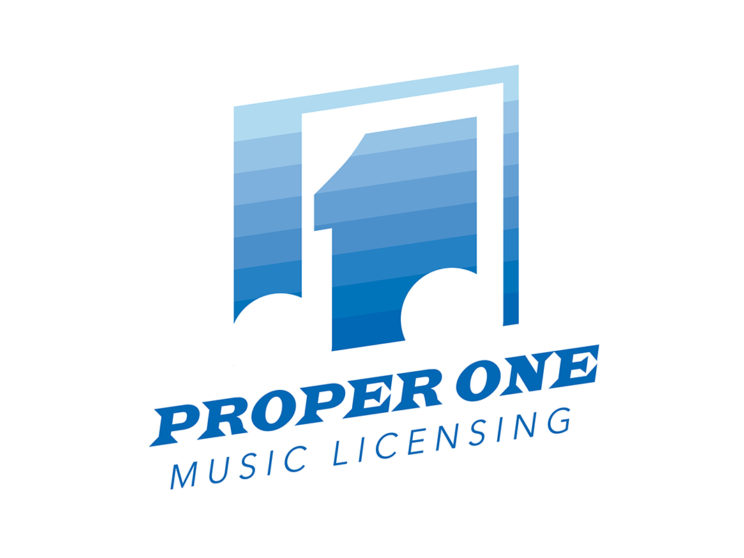 Proper One Music Licensing Final Logo