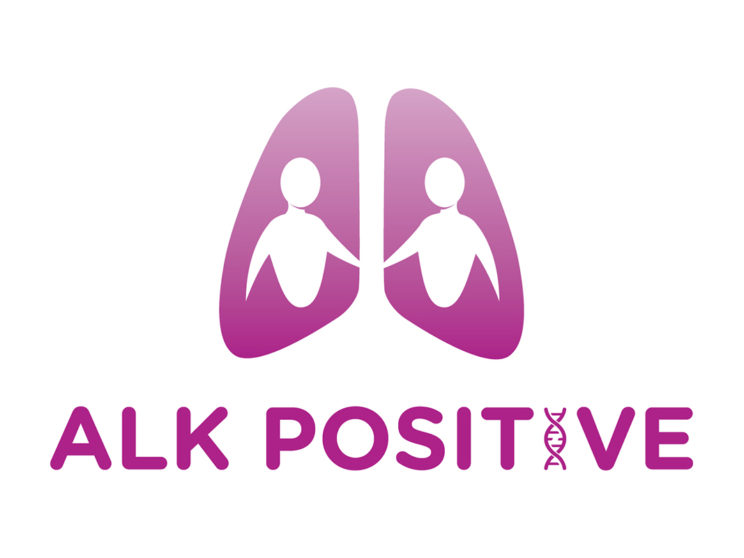 ALK Positive Logo (Lung Cancer Support Group)