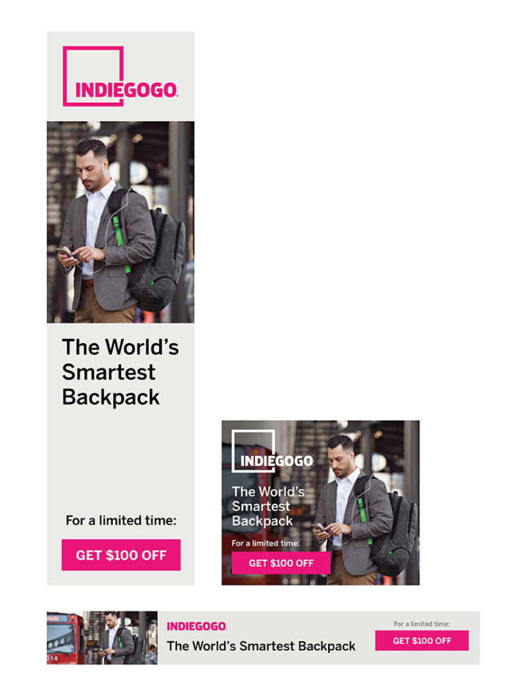 Indiegogo Campaign Ad